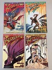Blood Of The Innocent 1-4 Full Set Warp Graphics Comics Dracula 1986 (BI01)