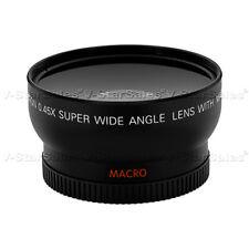 58mm 0.45X HD Wide Angle Lens For Olympus E410 E510 E520 E630 E3 E30