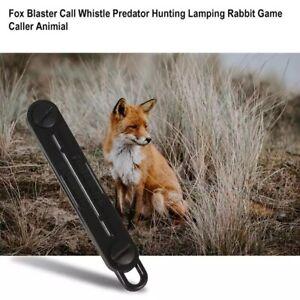 Fox Call Hunting Mouth Whistle Lamping Predator Distress Caller Shooting Rabbit
