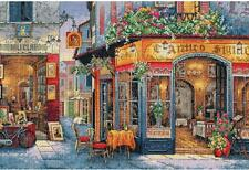 Counted Cross Stitch Kit EUROPEAN BISTRO Dimensions Gold Collection