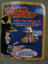 """Dick Tracy Clip on Magnet """"Sorry Pal It's The Law1"""" Playmates Disney 1990 NIB"""