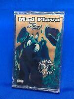 Mad Flava – From Tha Ground Unda | Cassette Tape 1994 Hip Hop Rap *SEALED NEW*
