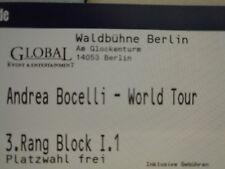 Andrea Bocelli 24.08.18 Berlin Waldbühne Block I.1