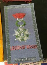 New listing Legion of Honor Fraternal Tobacco Silk Egyptienne Luxury 1910's