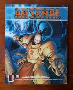 D20 Arsensal Soft Cover Book D&D Manual Dungeons & Dragons Weapons Guide Source