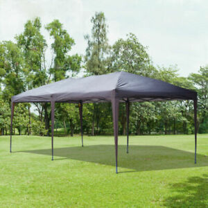 BRAND NEW TENT 10' x 10' Easy Pop Up Canopy Party Tent  QUALITY BLACK