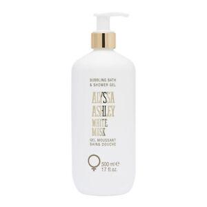 WHITE MUSK ALYSSA ASHLEY * 17 oz (500 ml) NEW Bubbling Bath & Shower Gel w/Pump
