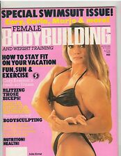Female Bodybuilding Women's Muscle Magazine/Julia Kover Summer 1990 #21