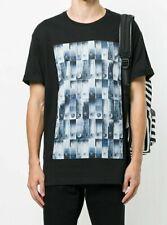 VERSACE VERSUS Safety Pin Print Shirt T-Shirt Men's Roundneck Lux Top Hot Sale L