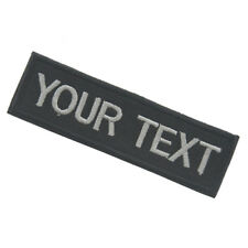 100PCS CUSTOM-MADE YOUR TEXT TACTICAL 3D U.S. ARMY EMBROIDERED HOOK PATCH #01