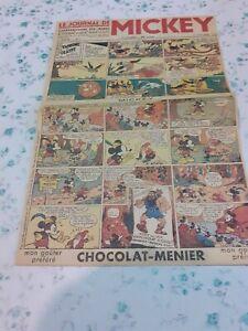 LE JOURNAL DE MICKEY fac simile du numero 1 de 1934 TBE