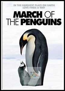 March Of The Penguins    Year 2005 Movie Posters Classic Films