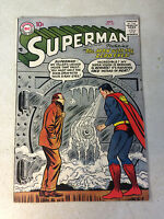 SUPERMAN #117 SECRET FORT, LEX LUTHOR, COLD SUPER VISION, 1957, 10 CENT COVER