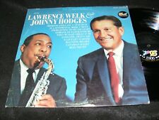 LAWRENCE WELK & JOHNNY HODGES Dot Stereo LP Smooth Sax Swing Classic MARTY PAICH
