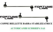 COPPIA BIELLETTE BARRA STABILIZZATRICE FIAT GRANDE PUNTO CORSA D ALFA ROMEO MITO