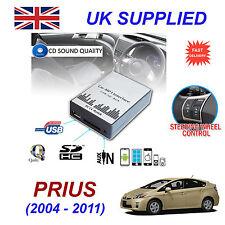 TOYOTA PRIUS MP3 SD USB CD AUX Input Audio Adapter Digital CD Changer Module 6+6