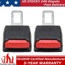 2pack Universal Car Seat Belt Safety Clip Extender Extension Buckle Sound Cutter