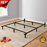 Adjustable Metal Bed Frame Rails For Twin Full Queen Size Box Spring Mattress