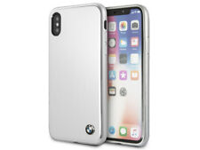 Original BMW funda protectora para iPhone X LCD Protección brushed aluminio
