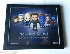 FRAMED X-MEN DAYS OF FUTURE PAST MOVIE POSTER SIGNED ARTIST CHILD'S ROOM ART
