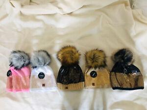 5 Warme Stylische + Farbenfrohe Damen Winter Mützen