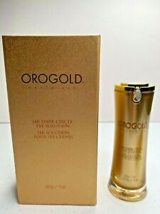 NIB Orogold Exclusive 24K Dark Circle Eye Solution Cream 30g 1 oz Genuine