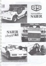 Saier kitcar Buggy porsche speedster cobra Healey anillo libro folleto brochure 47