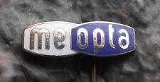 Meopta Stereo Viewfinder Binocular Logo Camera Optical Company Pin Badge