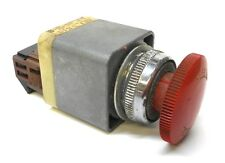 FUJI ELECTRIC RESET PUSH BUTTON AH30-V, RED MUSHROOM HEAD