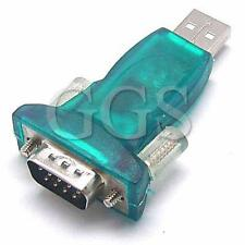 USB to serial RS232 DB9 Adapter Converter for Win7 Window 7 64 Bit Vista XP HM