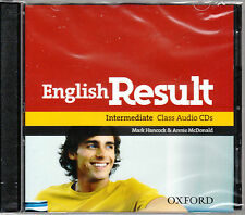 Oxford ENGLISH RESULT INTERMEDIATE Class Audio CD's (2) @BRAND NEW Sealed@