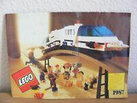 Vintage Retro Lego Castle Space Legoland Trains Fabuland 1987 Catalogue Brochure