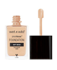 Wet n Wild Photo Focus Foundation -  Soft Beige 365C