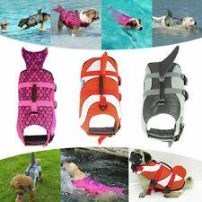 UK Pet Life Jacket Dog Swimming Buoyancy Aid Float Vest Adjustable Lifesaver Aid