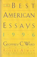"""Best American Essays 1996"" SIGNED by William STYRON and JAMES ALAN McPHERSON"