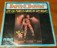 "DAVID BOWIE - LIFE ON MARS 7"" PICTURE SLEEVE 1973 SPAIN RCA 1ST ISSUE VERY RARE"