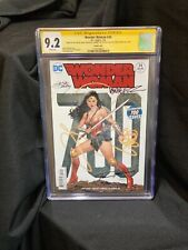 Wonder Woman 700 (#34) CGC SS 9.2 Signed 4x