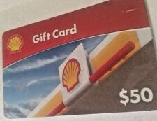 $50 Shell Gas Gift Card - Physical Card USPS Delivery