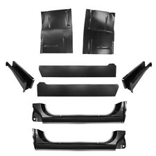 73-87 Chevy Large Floor Pans, X-Rockers, Inner & Floor Support, Blazer, GMC L&R