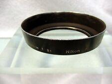 Nikon F Metal Lens Hood | fits 2.8cm F3.5 | 52mm screw in | $18.75 | #3