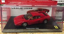 "DIE CAST ""  TESTAROSSA - 1984 "" FERRARI GT COLLECTION  SCALA 1/43"