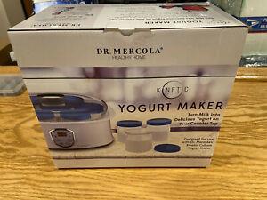 Dr Mercola Kinetic Culture Yogurt Maker Brand New In Box - never used