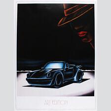 Art Edition Porsche 911. Atelier Murat, einmalig schönes Plakat
