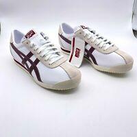 Asics Onitsuka Tiger Corsair White D7J4L Bruce Lee Style Sneaker Men's Sz 8