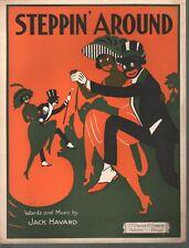 Steppin Around 1922 Sheet Music