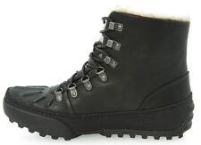 CLARKS hommes REEL COOL cuir noir, 100% doublure chaude UK 6 / vrai 6.5