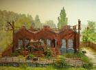 H0 Diorama HO 1:87 stillgelegte Trecker Traktoren Fabrik Betriebshof patiniert