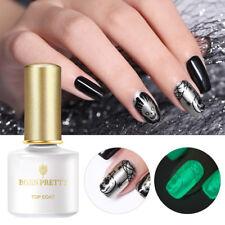 6ml BORN PRETTY Luminous No Wipe Top Coat Soak Off UV Gel Polish Nail Art Gel