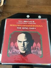 Mint- Yul Brynner The King And I RCA Records LP record