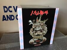 Howl's 2004 Moving Castle Diorama Ghibli Wooden Base Rare New NIBARIKI-TGNDDDT